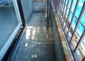 ベランダ床・塗膜防水施工 BEFORE