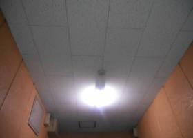 共用部天井塗装 BEFORE