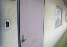 玄関ドア塗装 BEFORE